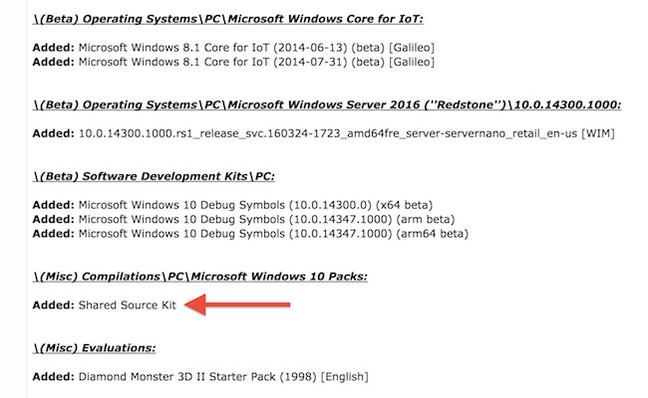 В Сеть утекли секретные внутренние сборки и «исходники» Windows 10