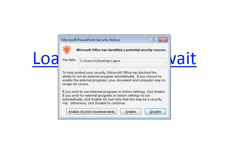 Опасный троян распространяется через PowerPoint файлы и PowerShell