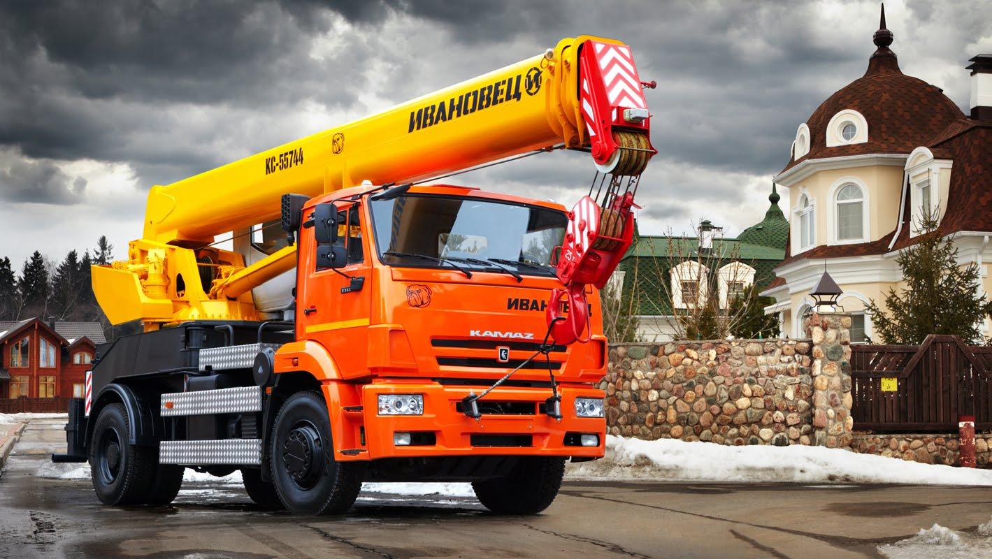 Аренда автокранов в Нижнем Новгороде