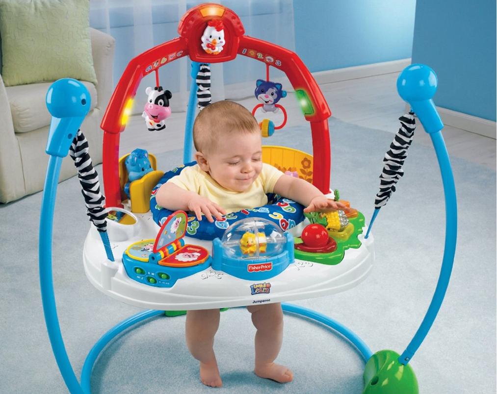 Как правильно выбрать детские прыгунки?