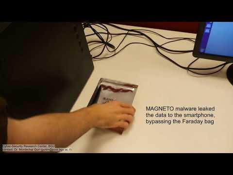 Найден способ извлечения данных с физически изолированных устройств, защищенных щитом Фарадея
