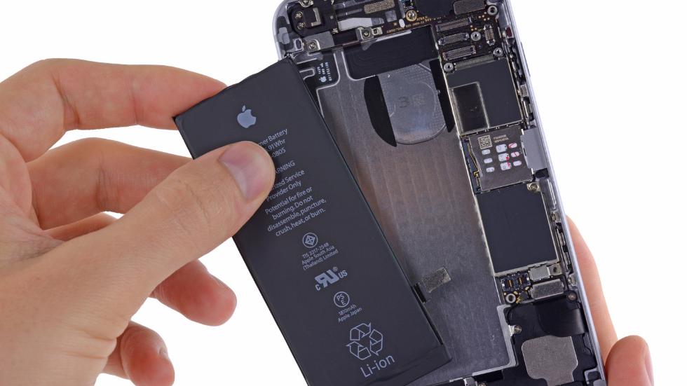 Замена аккумуляторов  в Айфоне 6