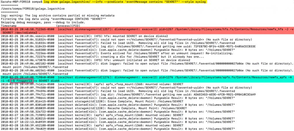 Уязвимость в macOS High Sierra позволяет получать пароли от дисков APFS
