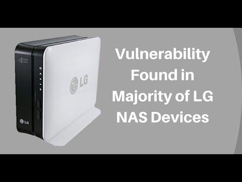 Сетевые накопители LG подвержены критической уязвимости