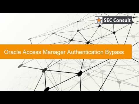 Уязвимость в Oracle Access Manager позволяет обойти аутентификацию