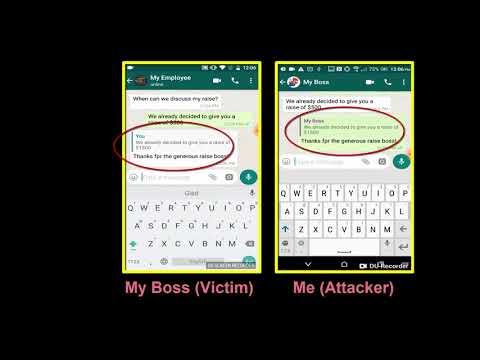 Уязвимость в WhatsApp позволяет изменять сообщения в групповых чатах