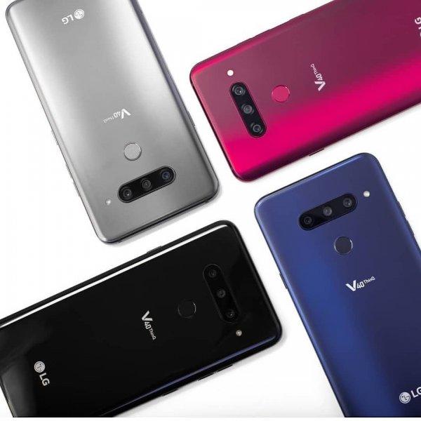 Смартфон с пятью камерами: LG выпустила новый флагман V40 ThinQ
