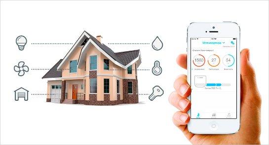 Возможности системы умный дом от компании ksimex-smart.com.ua