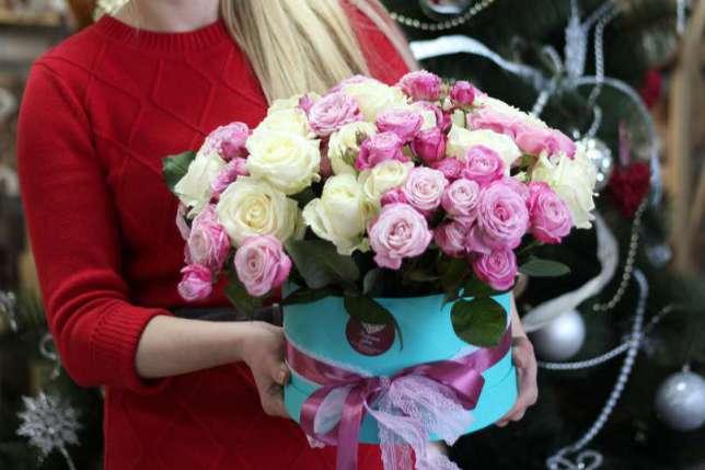 Доставка свежих цветов по Киеву и всей Украине