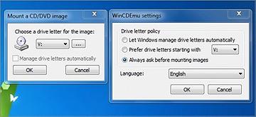 WinCDEmu – удобный эмулятор компакт-дисков