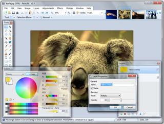 Программа Paint.NET – бесплатный графический редактор
