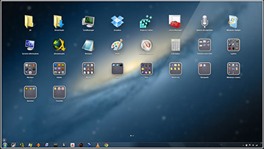 WinLaunch – аналог Launchpad для ОС Windows