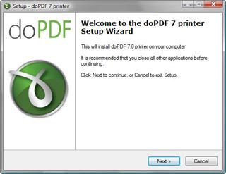 doPDF – бесплатный PDF-конвертер