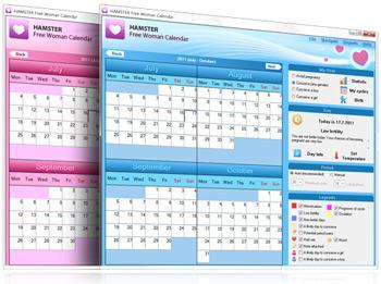 Hamster free Woman Calendar – программа менструальный календарь