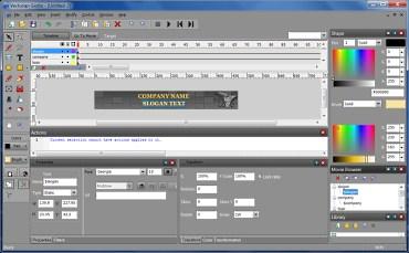 Vectorian Giotto – бесплатная программа для создания векторной анимации