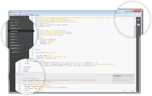 Бесплатный редактор кода от Adobe