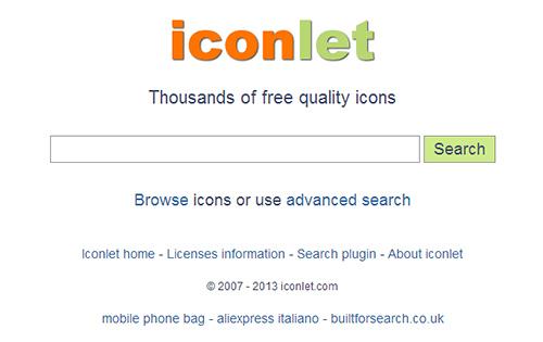 Сайты для поиска иконок