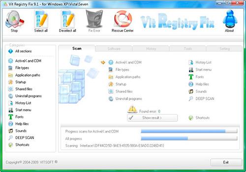 Бесплатная программа для очистки реестра