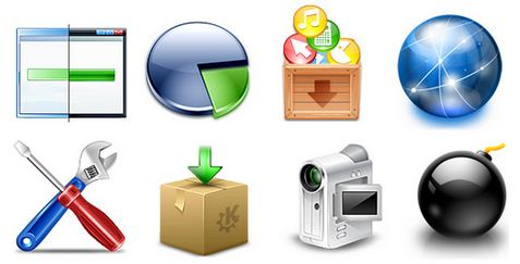 Значки для папок и системных файлов